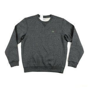 Lacoste Mens Gray Pullover Crewneck Sweatshirt